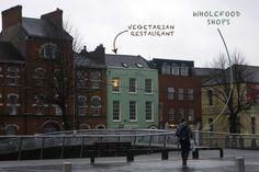 CORK, la Venise d'Irlande & ses alentours #1 - Bidule et Cocotte Quay co-up, a good Vegetarian restaurant in Cork city