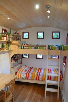 Hornby Island Caravans- bunk house