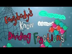 Flocabulary - Dividing Fractions - Keep, Change, Flip Hip Hop + Fun + Math = Flocabulary Dividing Fractions, Teaching Fractions, Math Fractions, Teaching Math, Teaching Ideas, Teaching Tools, Maths, Equivalent Fractions, Math Resources