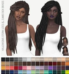 Miss Paraply: Hallowsims Storm: solids • Sims 4 Downloads