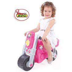 Stoer maar ook echt voor meisjes is deze schitterende roze motorfiets. Scheur door het huis of door de straten op deze leuke loopfiets. De loopfiets is voorzien van brede wielen voor extra stabiliteit.  #speelgoed #toys