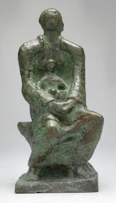 Henry Moore OM, CH 'Maquette for Madonna and Child', 1943, cast 1944–5 © The Henry Moore Foundation. All Rights Reserved