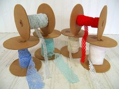 Vintage Lace Fabric Trims Remnants Collection  by DivineOrders, $19.00