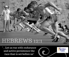 …Let us run with endurance and active persistence the race that is set before us Hebrews 12:1  #CCInstitute