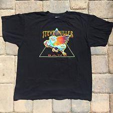 Vintage Steve Miller Band Jokers Ball Tour T Shirt Size XL