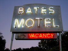 Bates Motel sign