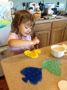 Love practical life activities - they improve concentration, hand/eye coordination, and fine motor skills!