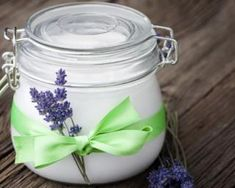DIY Lavender Body Butter (Eczema Lotion) body butter recipe with lavender feature Coconut Oil Body Scrub, Coconut Oil Lotion, Coconut Oil Uses, Organic Coconut Oil, Coconut Sugar, Best Body Butter, Whipped Body Butter, Diy Natural Deodorant, Homemade Deodorant