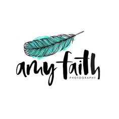 I had the absolute pleasure of working with the lovely Maeve of @toowordy on this fabulous logo for @amyfaithphoto .  Lettering : Too Wordy Feather illustration: Inkstruck Studio #Inkstruck