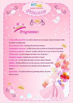 animations anniversaires princesses enfants fêtes Disney Birthday, 4th Birthday, Birthday Parties, Princess Invitations, Pajama Party, Lets Celebrate, Princess Party, Diy For Kids, Diy And Crafts