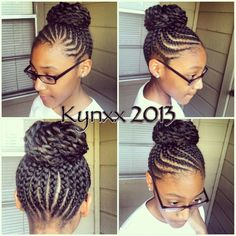 Astonishing 1000 Images About Natural Hair And Braid Styles On Pinterest Hairstyles For Women Draintrainus