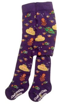 Slugs & Snails Tights - Sub Retro Baby Clothes - Baby Boy clothes - Danish Baby Clothes - Smafolk - Toddler clothing - Baby Clothing - Baby clothes Online Baby Tights, Cotton Tights, Toddler Outfits, Baby Boy Outfits, Baby Clothes Online, Retro Baby, Patterned Tights, Yellow Submarine, Tights Outfit