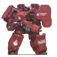 Robot Concept Art, Armor Concept, Robot Design, Game Design, Robots Characters, Arte Robot, Mekka, Cool Robots, Sci Fi Armor