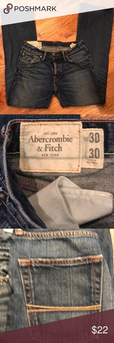 Abercrombie & Fitch Jeans Waist 30.  Length 30.  Baxter low rise slim boot by Abercrombie & Fitch. Abercrombie & Fitch Jeans Boot Cut