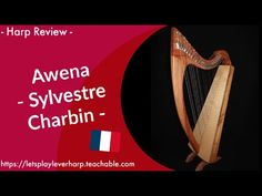 🍀 Harp Review - French    les harpes de Sylvestre Charbin 27 Years Old, French, Let It Be, Songs, Play, Learning, Youtube, French People, Studying
