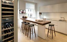Еlegant Modern Living Space by TG   Studio modern innovations appliances kitchen area