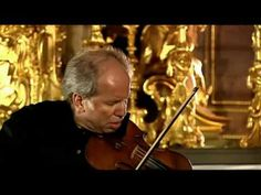 Gidon Kremer plays the Chaconne from Bach Solo Violin partita 2, BWV 1004, in D minor