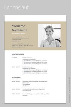 Lebenslauf 1 Napea - If you like this cv template. Check others on my CV template board :) Thanks for sharing! Google Docs, Resume Design Template, Cv Template, Resume Templates, Design Resume, Open Office, Word 2016, Cv Curriculum Vitae, Free Resume Examples