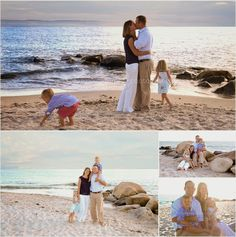 Beach Family Session CT photographer {Denise Gammell Photography} baby, child, family, seniors, maternity CT: Connecticut Coast {Family Session} Harkness State P...