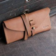 The-Kiley-Fine-Leather-Wrap-Wallet-Pocketbook-Checkbook-Cover-Holtz-Leather-Co-Image2