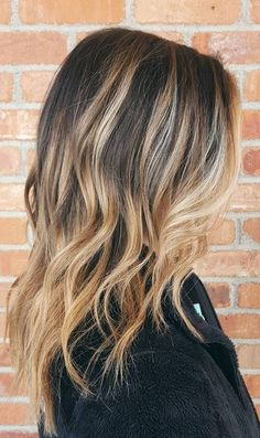 love this - cashew and caramel highlights