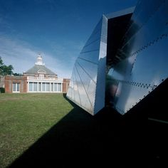 Serpentine Gallery Pavilion 2001 by Daniel Libeskind with Arup Daniel Libeskind, Serpentine Pavilion, Home Developers, Origami Architecture, Temporary Structures, Architect Magazine, Galleries In London, Zaha Hadid, Urban Farming
