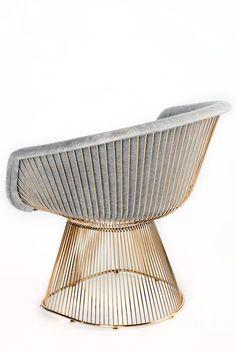 "Measurements: 30"" H x 33.5"" W x 26"" D, 40 pounds Seat height: 18"" Materials: Steel, Velvet"
