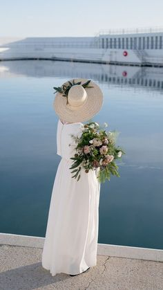 Our local wedding magazine loved our Penzance Pool photoshoot so much they put this picture on their cover!! stunning details all set off by my oh so simple Billie Bridal Separates. Wedding Wear, Wedding Dresses, Bridal Separates, Boater Hat, Dressmaker, Alternative Wedding, One Design, Bridal Gowns, Photoshoot