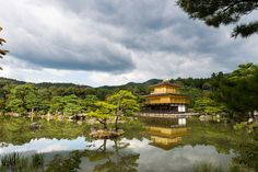 Kinkaku-ji, Temple of the Golden Pavilion in Kyoto