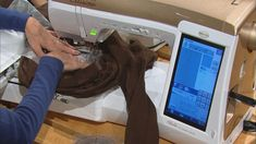 Video thumbnail: Sewing With Nancy Machine Embroidery in 6 Easy Lessons - Part 2 Brother Embroidery Machine, Machine Embroidery Thread, Machine Embroidery Projects, Machine Quilting, Nancy Zieman, Embroidery Monogram, Embroidery Ideas, Towel Embroidery, Butterfly Embroidery