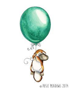 Platypus Goes Adventuring by Shalladdrin.deviantart.com on @deviantART