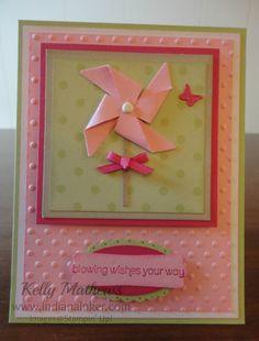 Indiana Inker: Pinwheel Cards - Stampin' Up!