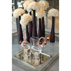 Hydrangeas, Wedding Flowers, Spring, Summer, Fall Flowers, Colors ||... via Polyvore