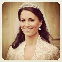 This instagram makes it seem much more personal.She's too gorgeous. Definately the most timeless, classiest, #famous #bride we've seen in ages!!