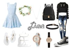 """line"" by wheelkair on Polyvore featuring Michael Kors, Topshop, Alex Perry, Converse, Boohoo, Barbour and Tiffany & Co."