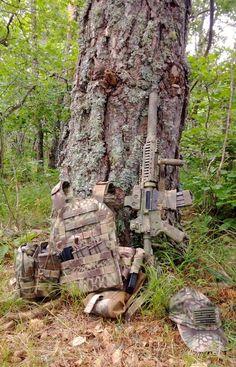 Mandrake gear and rifle