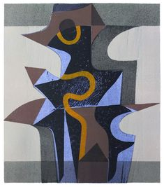 Peter Green - Night Tower - woodcut and stencil print