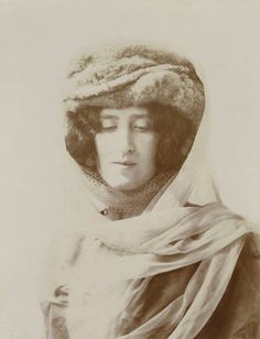 Lady Ottoline Morrell (1873-1938), Patron of the arts; half-sister of 6th Duke of Portland; wife of Philip Edward Morrell