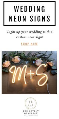 Wedding Goals, Fall Wedding, Our Wedding, Wedding Planning, Dream Wedding, Custom Neon Signs, Friend Wedding, Here Comes The Bride, Marry Me