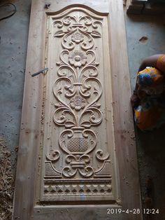 Wooden Front Door Design, Wooden Front Doors, Beats Wallpaper, Edwin, Entrance Doors, Carpenter, Wood Carving, Cnc, Infinity