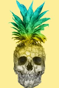 Pineapple Skull Colors