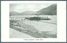 Fairy Queen Loch Rck Postcard