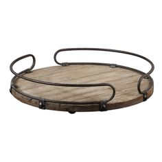 Acela, Natural Fir Wood Tray Uttermost Serving Trays Serving Trays Kitchen