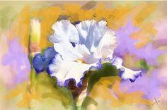 Великолепные цветы Alberto Guillen