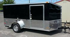"""new 6x12 ez low rider custom motorcycle trailer 81"""" tall over all it will fit in your garage slant vnose alumnium wheels and radial tires  $..."""