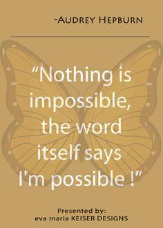 Quote: Audrey Hepburn