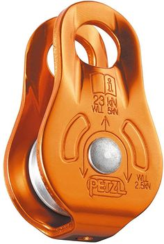 The lightweight, compact Petzl Fixe pulley will help you haul your gear up your next big-wall climb. Available at REI, Satisfaction Guaranteed. Homestead Survival, Wilderness Survival, Camping Survival, Survival Prepping, Survival Skills, Survival Gear, Water Survival, Survival Videos, Survival Stuff