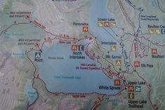 A Loop Hike Around Beautiful Upper Kananasksis Lake - Hike Bike Travel North Creek, Discover Canada, Lake Camping, Old Trees, Tree Trunks, Mountain Hiking, Windy Day, Picnic Area, Day Hike