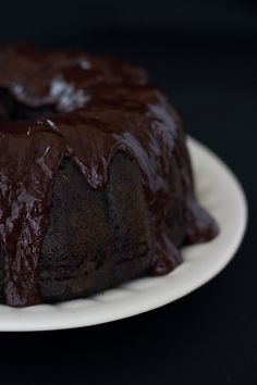 Chasing Delicious - Blackberry Chocolate Cake