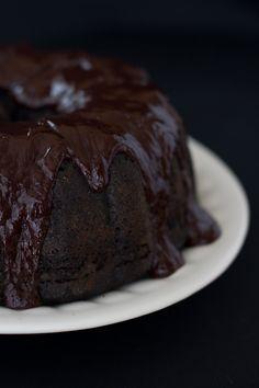 Blackberry Chocolate Cake with Ganace